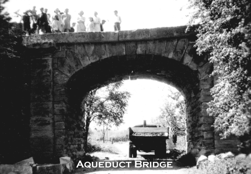 Aqueduct Bridge before demolition